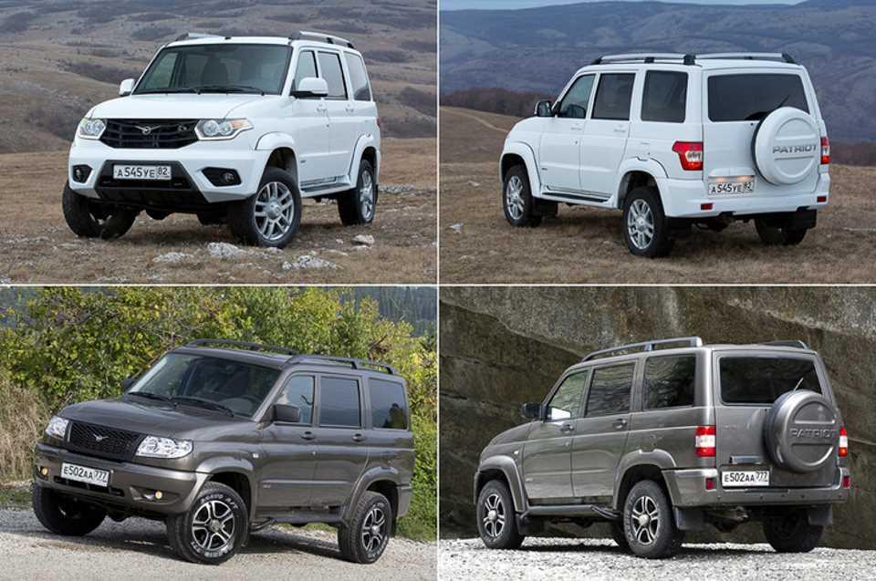 Обновленный УАЗ Патриот - отличия от предыдущей версии